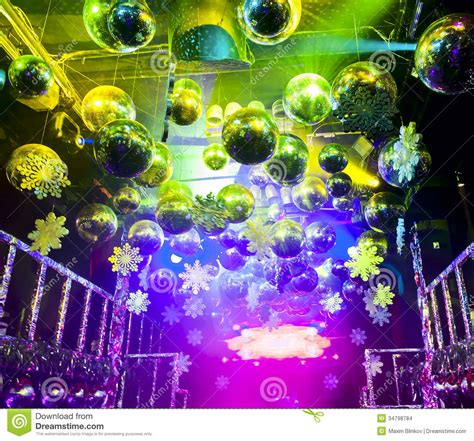 disco christmas lights disco in at nightclub stock images image 34798784