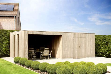 cubic met luifel poolhouse moderne poolhouse plaatsen