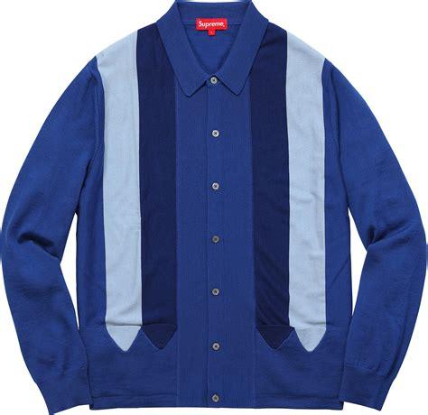 Sweater Oblong Supreme Polos supreme arrows striped polo sweater