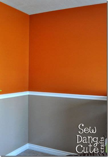 orange walls love orange and grey was talking to reese about something like this the other day for the