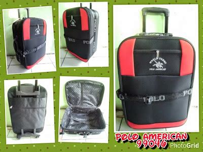 Tas Ransel 2 Resleting Uk 30cm distributor tas rangsel tas koper troley polo american 99040