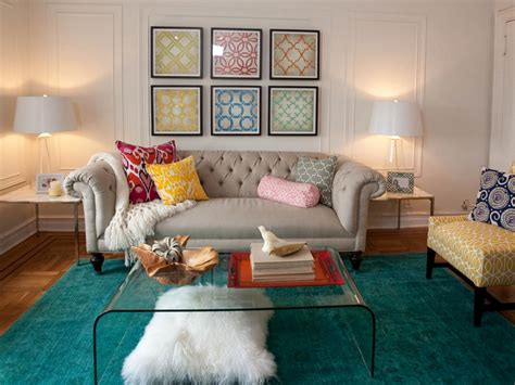 Brown And Turquoise Rug Living Room Photo Page Hgtv