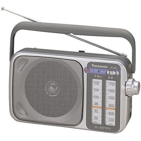 Ac Panasonic Ter Update panasonic rf 2400 portable am fm radio rf 2400 b h photo