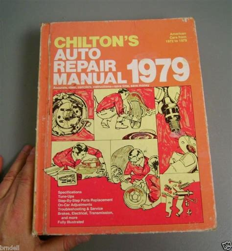 service manual books about how cars work 1979 chevrolet buy chilton auto repair manual american cars 1972 1979 instruction tune up service motorcycle in