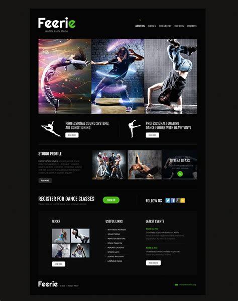 theme wordpress dance dance studio responsive wordpress theme 45888