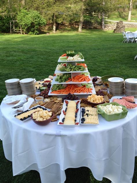 Best 25  Wedding appetizer table ideas on Pinterest