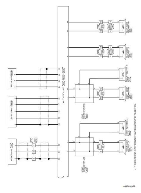 nissan rogue service manual wiring diagram navigation