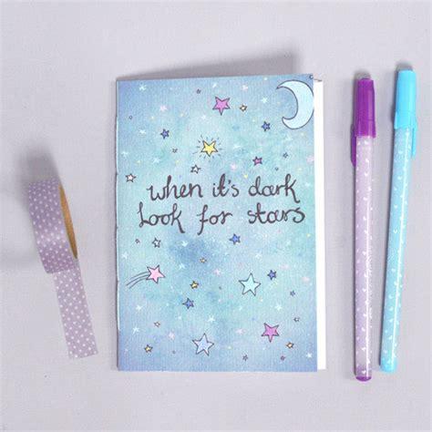 school supplies illustration inspiration pinterest cute notebook look for stars illustration stars moon