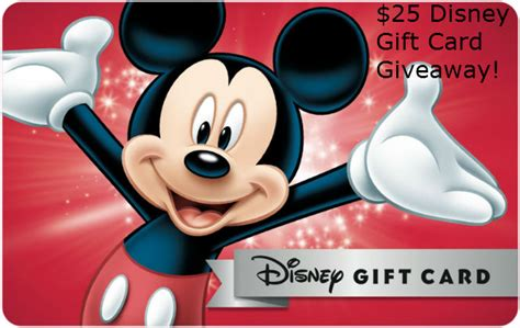 Disney Gift Card Transfer - 25 disney gift card when you book a disney trip