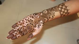 full hand bridal henna mehndi designs tutorial youtube