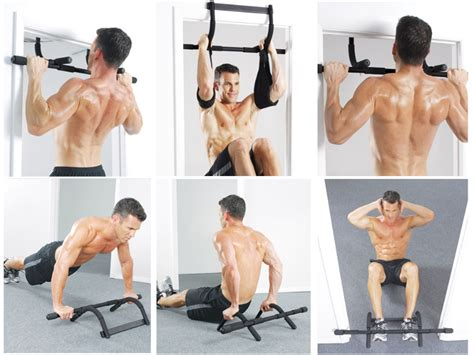 Iron Alat Fitnes Pull Up Angkat Beban jual iron pull up bar fitness pembentuk otot dada dan
