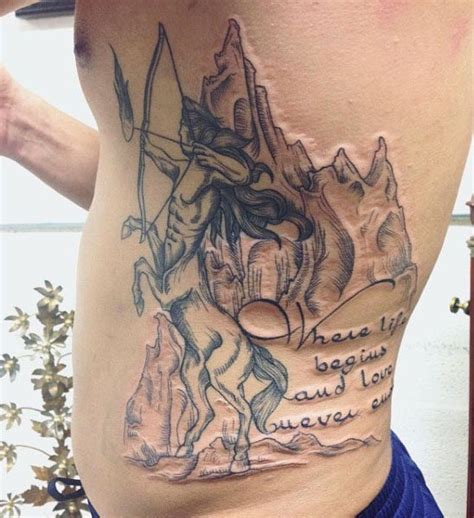 30 sagittarius tattoos for men astrological sign designs