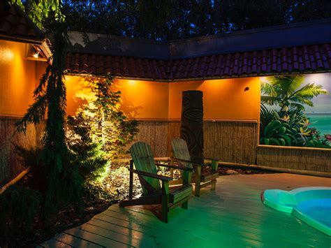 outdoor lighting portfolio  landscape design