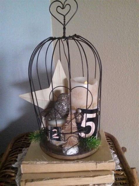 christmas bird cage christmas season pinterest
