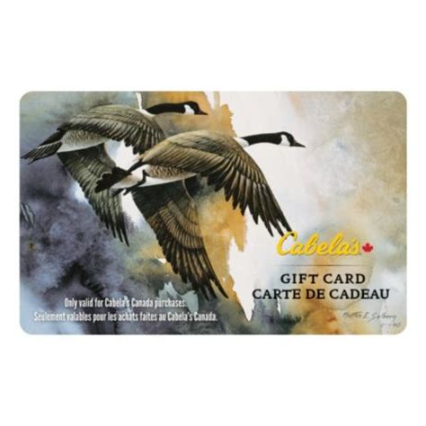 Who Sells Cabela S Gift Cards - cabela s canada gift card flying geese cabela s canada