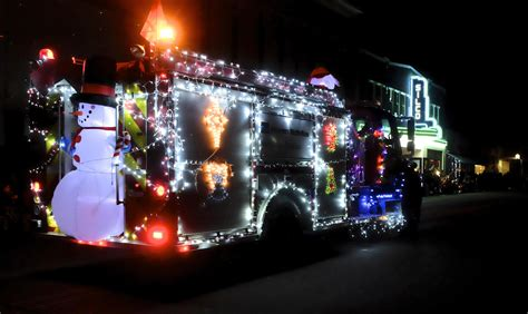 27th annual lighted christmas parade silver city radio