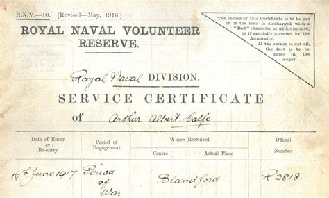 Royal Navy Records Ww1 Findmypast