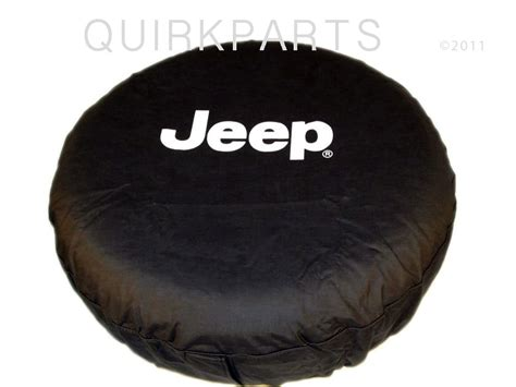 Jeep Liberty Tire Cover Size 97 2012 Jeep Wrangler Or Liberty Tire Cover White Logo Ebay