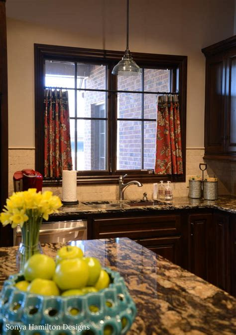 kitchen cafe curtain kitchen cafe curtain a bold fabric combination and a mud