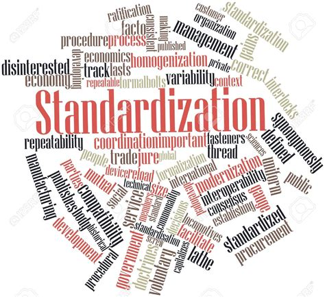list of synonyms and antonyms of the word standardization
