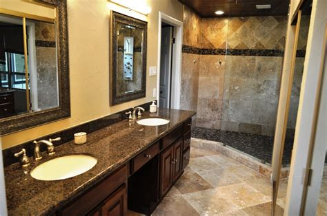 bathrooms before & after