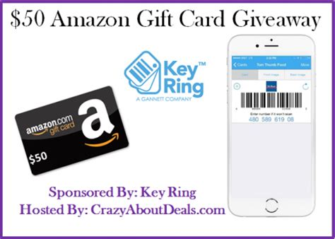 50 Amazon Gift Card - 50 amazon gift card giveaway sponsored by key ring