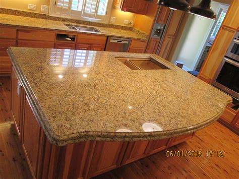 Kitchen Island With Granite Countertop Granite Kitchen Countertop Island Crafted Countertops Wisconsin Granite Countertops Custom