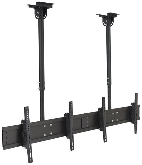 suspended ceiling tv mount adjustable length
