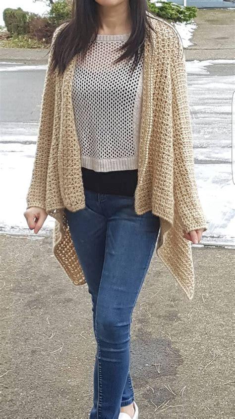 drape cardigan pattern v stitch seamless drape front cardigan pattern