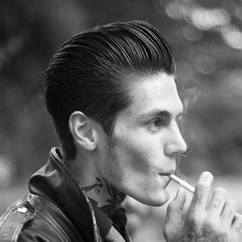 rockabilly rear view of men s haircuts 15 rockabilly hairstyles for men