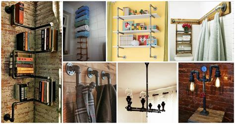 25 diy projects to decorate your first home on the cheap 25 cool diy metal pipe projects for your home