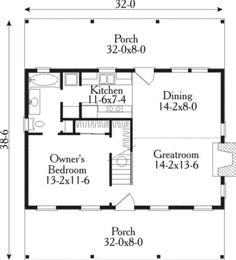 country cabin floor plans floor plan potential small house plans