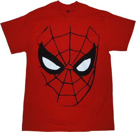 Kaosbajut Shirtspiderman Logo mask t shirt