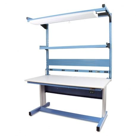 Benches Tables Iac Iac Electric Height Adjustable Workbench 30 D X 60 W 940