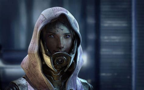 Masker Tali mass effect tali wallpapers wallpaper cave