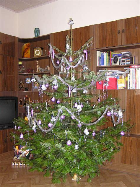 weihnachtsbaum mit lametta tr 228 umerle 187 weihnachtsbaum