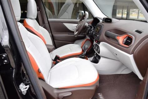 jeep renegade leather interior interiors count ward s 10 best interiors for 2015
