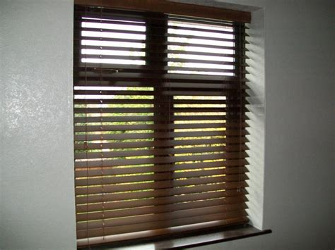 Brown Wood Blinds wood hereford