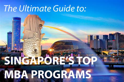 Smu Mba Program Guide singapore archives 187 touch mba