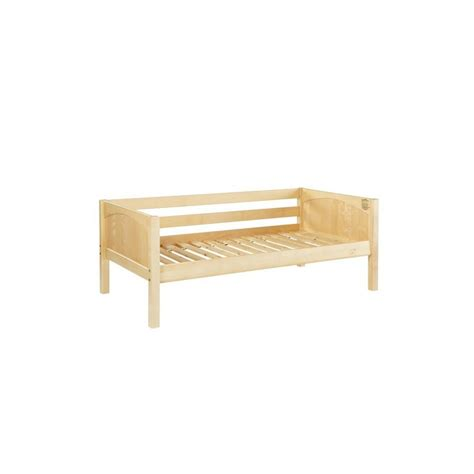guard rails for twin bed brix twin size daybed with back guard rail solid maple