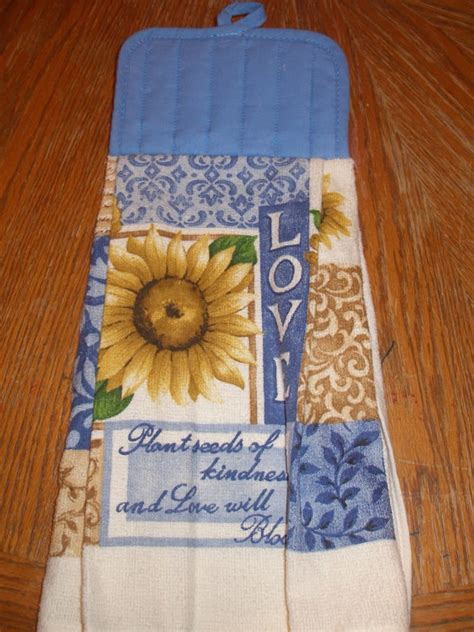Sunflower Kitchen Towels by 10 Best Images About Sunflower Kitchen Theme On