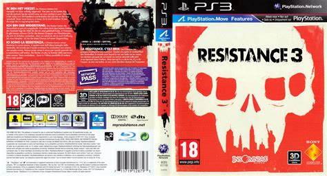 best cover for 3 resistance 3 german ps3 cover german dvd covers