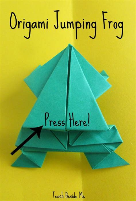 Origami Math - leap frog math origami math and write notes
