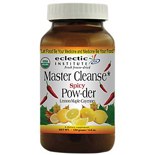 Master Cleanse Detox Powder Reviews by Master Cleanse Spicy Powder 130 Grams Powder By Eclectic
