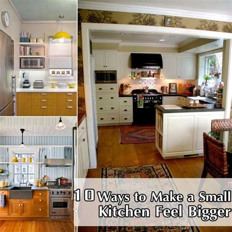 10 tips to make a small kitchen appear bigger