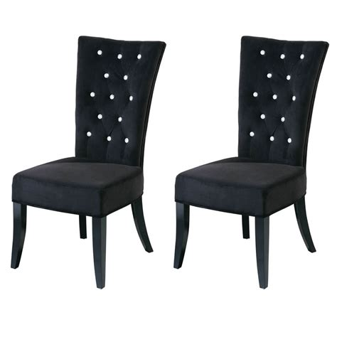 black velvet dining chairs radiance black velvet dining chairs diamante dining