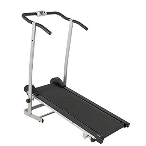 Treadmill Id 6638 M manual treadmill w 2 level incline flywheels fitness exercise home sporting goods