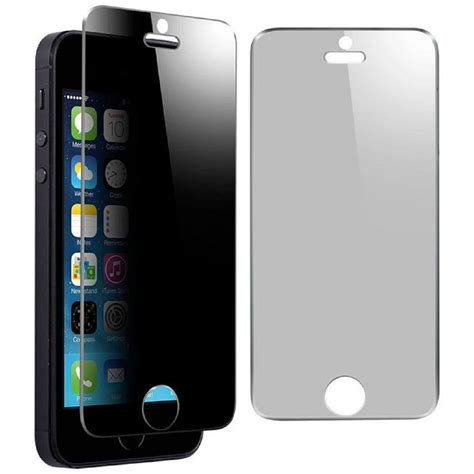 Temperedglass Iphone 5 iphone 5 privacy tempered glass screen protector gsm