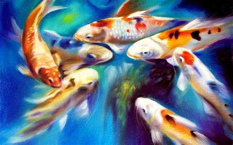 koi live wallpaper for windows 7 koi fish water painting koi free live wallpaper for
