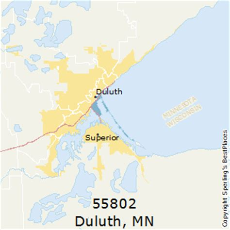 zip code map duluth mn best places to live in duluth zip 55802 minnesota